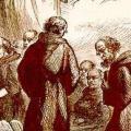 Migrations de moines venant de la Bretagne insulaire
