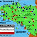 Carte succession de Bretagne