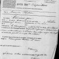 Décès Pierre Andrieux en 1856 à l'Ile Tova