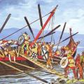 Raid viking (Source  http://quercus.canalblog.com/archives/2009/04/19/13438707.html)