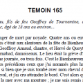 Témoignage de Guillaume de Tournemine au procès de canonisation de Saint Yves 1331