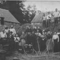 Battages à la Ville Bréhaut en 1920